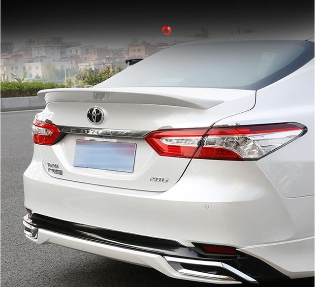 Jioyng Paint Car Rear Wing Trunk Lip Big Spoiler For 18 19 Toyota