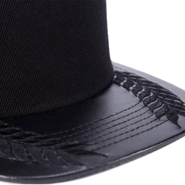 men cap  hip hop caps women 2017 summer gorras planas snapback High quality breathable Cap with straight visor black