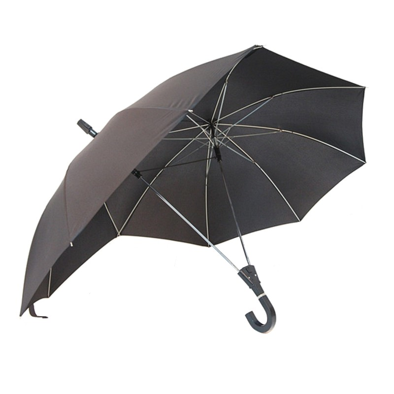 2017 Novelty Automatic Two Person Umbrella Parasol Lover Couples Umbrella Two Head Double Rod Umbrella Bumbershoot