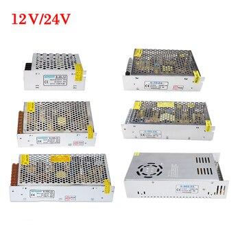 24 V Schalt Netzteil 12 V Stromquelle Transformator 1A 2A 3A 5A 8A 10A 20A 30A AC 110 V 220 V zu DC 12 V 24 V volt Konverter