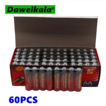 Dolidada 60 шт. HUADAO щелочные сухие батареи AA 1,5 В батареи для камеры, калькулятора, будильника, мыши, батареи дистанционного управления