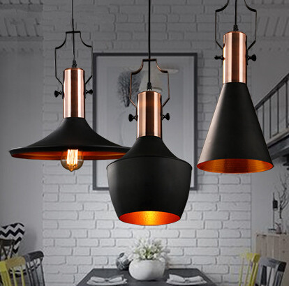 Loft Style Industry Retro Restaurant Bar Creative Pendant Light American Cafe Clothing Store Pendant E27 LED Lamp Free Shipping free shipping ac retro 4 head bulb holders chandelier iron water pipe industry creative personality light for clothing store