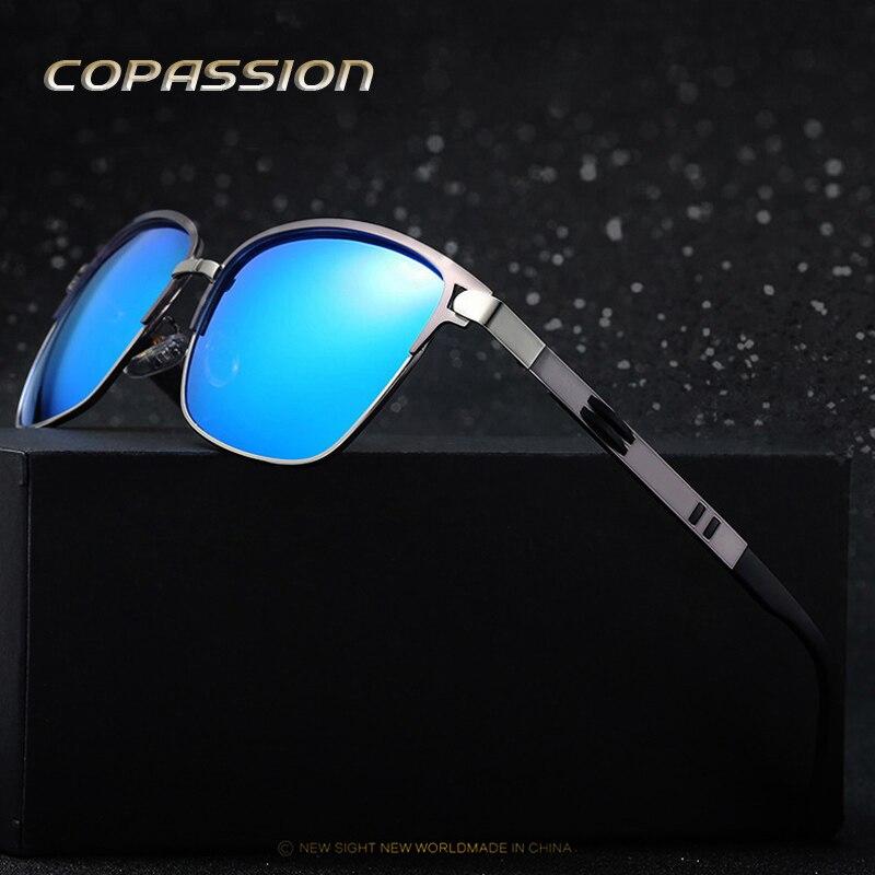 Поляризованные солнцезащитные очки мужские брендовые дизайнерские очки Досуг солнцезащитные очки UV400 Очки вождения очки водителя Óculos De Sol ...