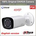 Inglês poe dahua câmera ip lente varifocal motorizada ipc-hfw4431r-z distância do ir 80 m câmera 4mp substituição para ipc-hfw4300r-z