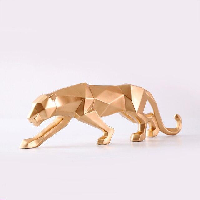 تمثال النمور الاسكندنافية المجردة ديكور و اكسسوارات