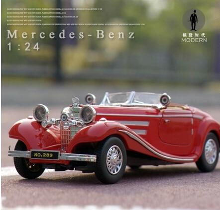 Free Shipping Alloy Model Cars Mercedes Benz Convertible 500k Clic Retro Vintage Car Gift Collection On Aliexpress Alibaba Group