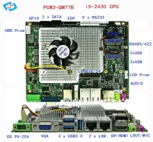 laptop motherboard with 2.4GHZ I5 processor motherboard for gaming