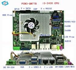 Laptop moederbord met 2.4 ghz I5 processor moederbord voor gaming