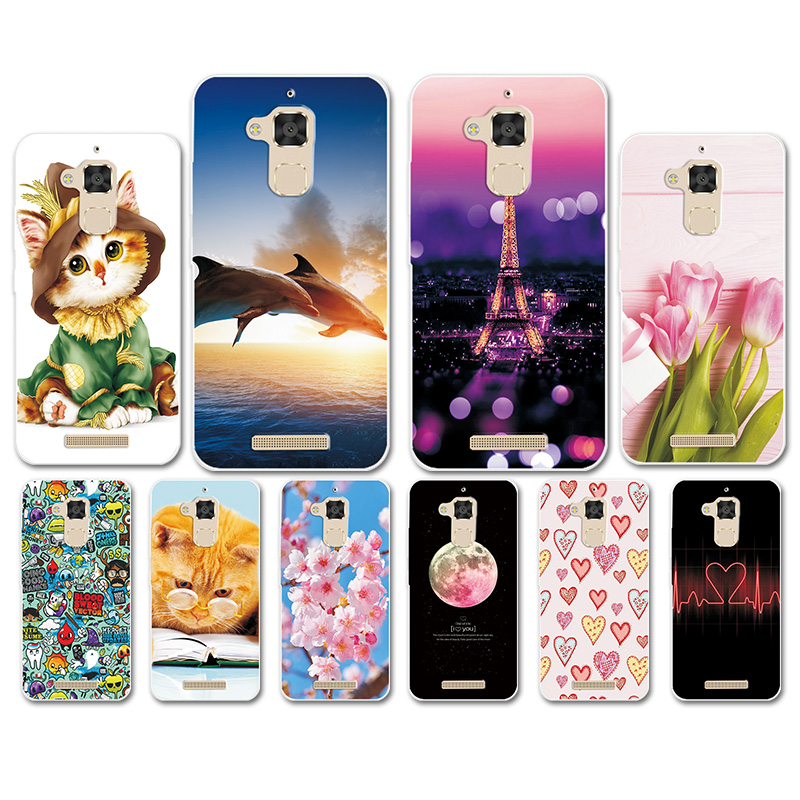 Phone Case For <font><b>Asus</b></font> Zenfone 3 Max <font><b>ZC520TL</b></font> X008D Soft TPU Heart Case For <font><b>ASUS</b></font> Zenfone 3 MAX ZC 520TL 5.2 Bags Cover Soft Fundas image