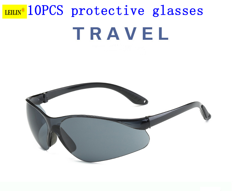 cycling glasses Free Shipping 10Pcs High quality Clear Lens Protective Safety Glasses Work Safety Goggles free shipping 10pcs 1203p100 dip8