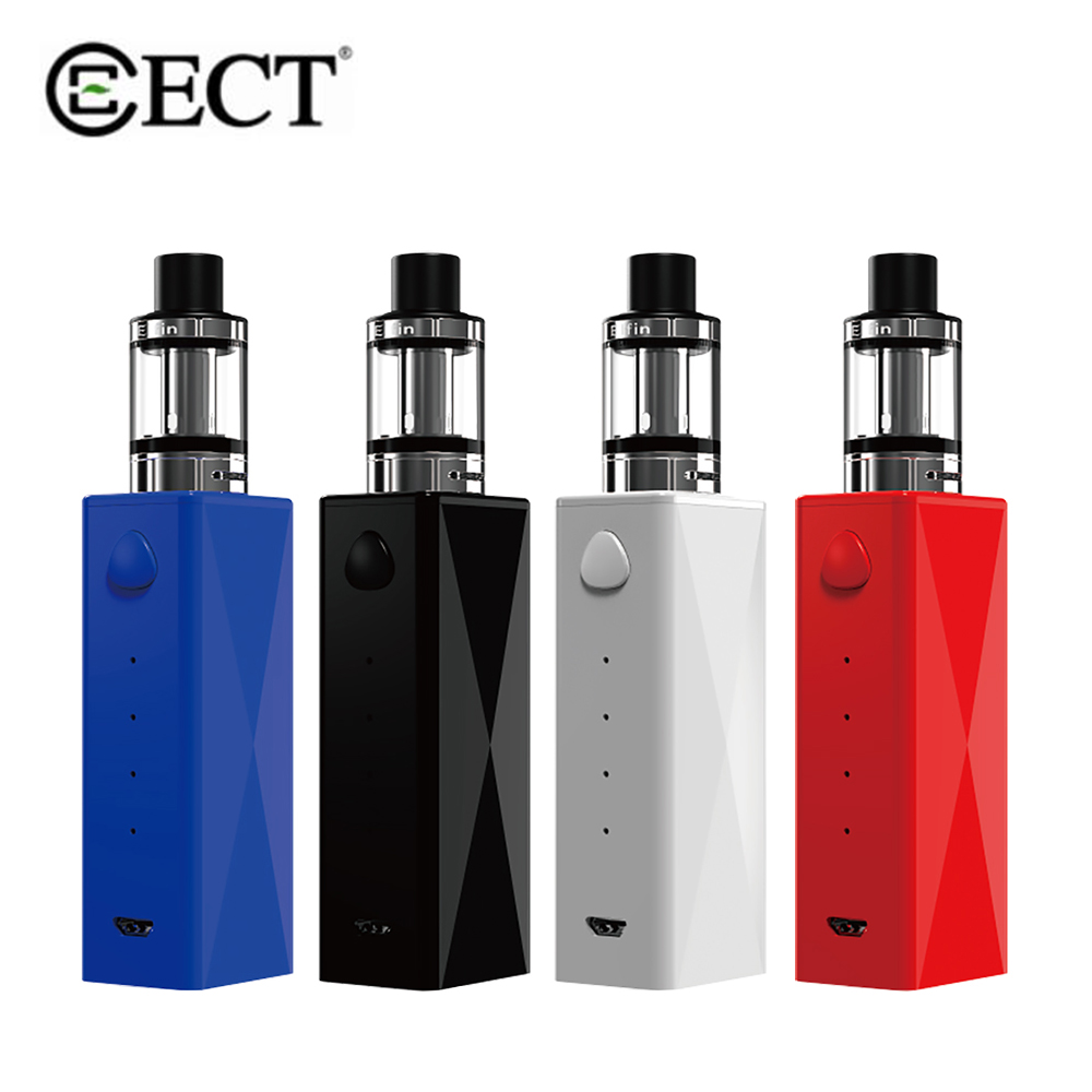 ECT Cub 40W Kit 2200mAh Battery 510 Thread 2.0ml Elfin Atomizer Starter Kit Adjustable Airflow Tank Vape Electronic Cigarette