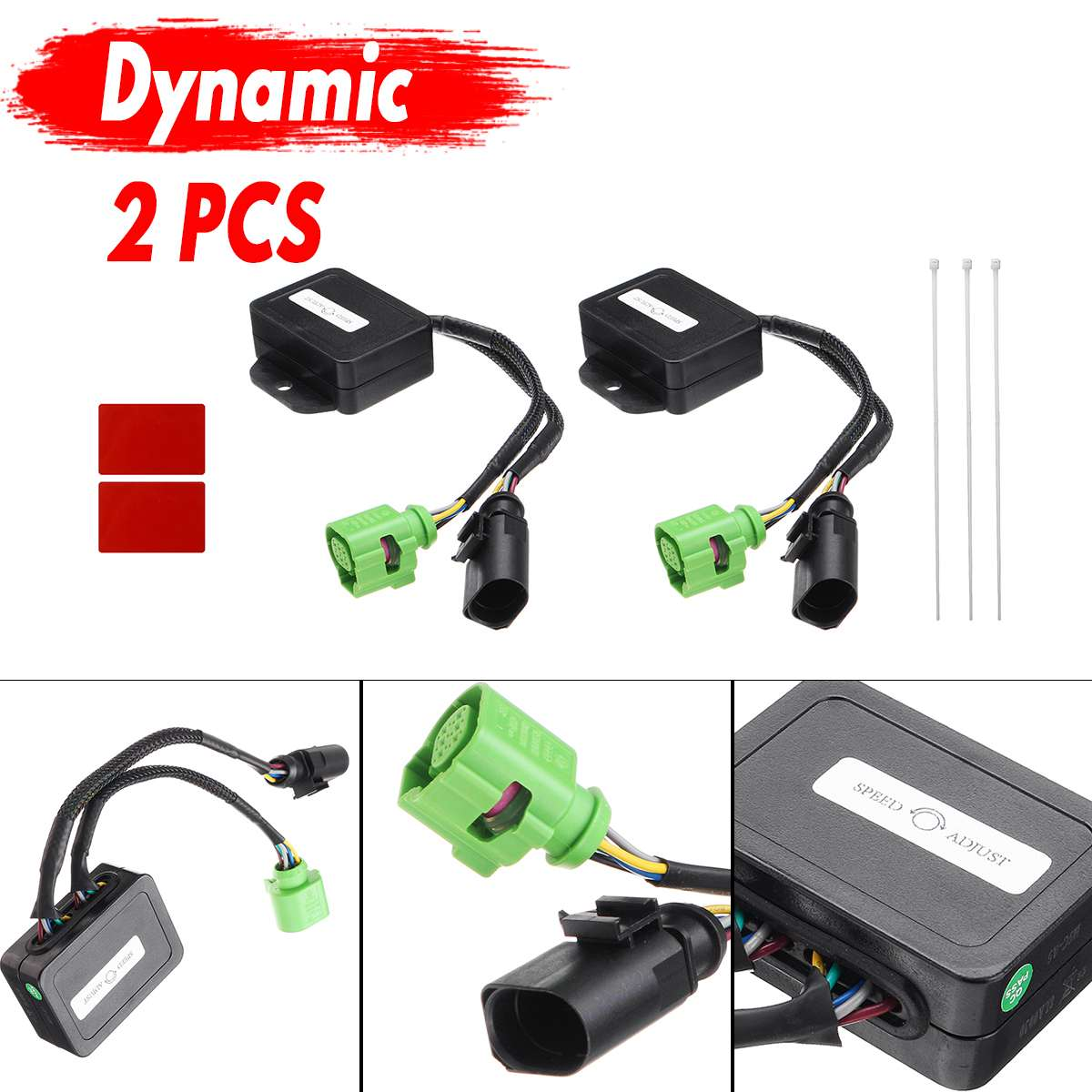 1 Pair Semi Dynamic Module Turn Signal LED Turn Signal Lights Cable Wire For Audi A5 8T 2007 2018