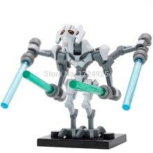 Star Wars General Grievous Única Venda Figura Blocos de Construção A Força Desperta PG630 Starwars Definir Modelos de Brinquedos Para Crianças