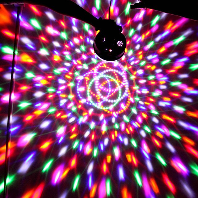 18w sound activated rgb led mini stage light magical crystal disco 18w sound activated rgb led mini stage light magical crystal disco ball light for party bars mozeypictures Choice Image
