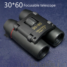 2019 High Quality 30 X 60 Mini Compact Binocular Telescope 126m To 1000m Day and Night Vision Foldable Telescope