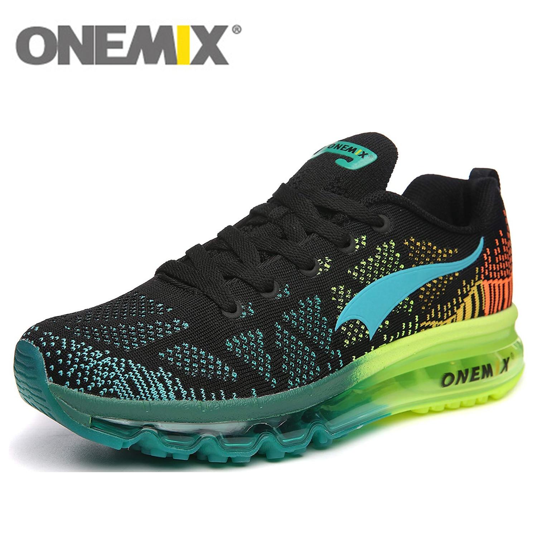ONEMIX Formateurs Air Chaussures de Course Pour Hommes 90 Femmes Livraison Tissage Baskets Respirant Maille Tricot Sport Chaussures