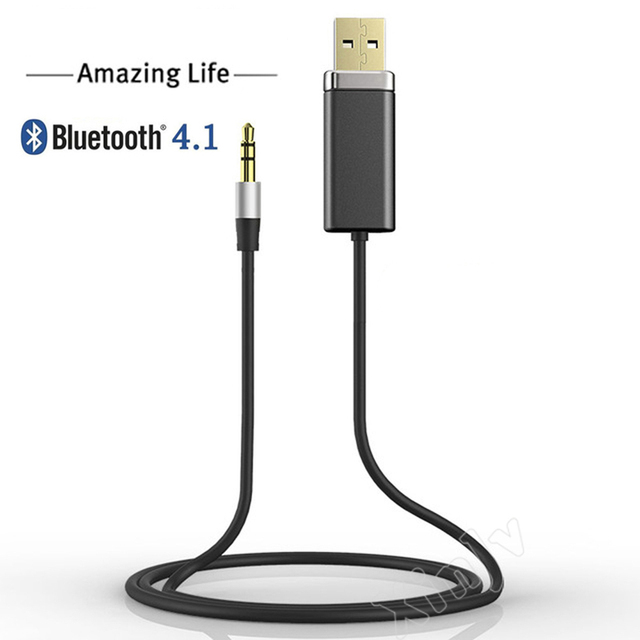 Blutooth USB Stereo Wireless Car Aux 3.5mm 3.5 4.1 Bluetooth Audio ...