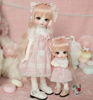 Full Set 1/6 BJD Doll BJD/SD Cute Lovely Lina Joint Doll Daisy For Baby Girl Birthday Gift With Glass Eyes