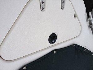 Image 5 - HCSSZP 4 adet 2 inç yuvarlak siyah gömme çekme Slam mandalı RV tekne için deniz güverte kapak kapı değiştirme