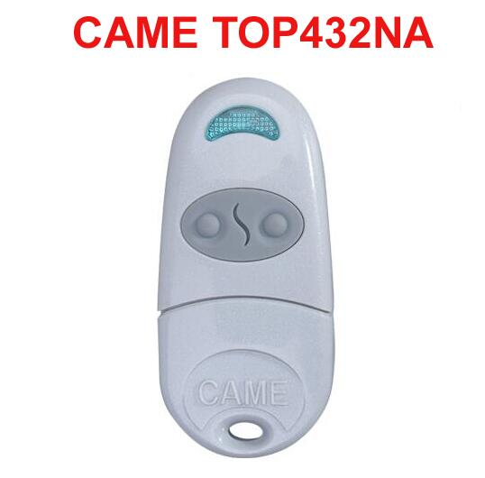 Duplicator for CAME TOP432NA Cloning replacement garage door Remote Control  433MHz came top432ev cloning compatible remote control transmitter 433mhz free shipping