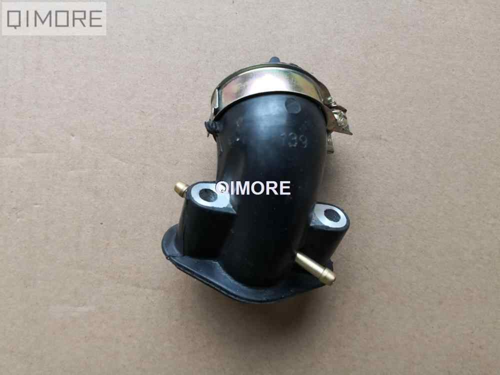 Intake manifold (2-nipple for EGR Cylinder Head) for 4 stroke Scooter Moped ATV QUAD GY6 50 GY6 60 GY6 80 139QMB 147QMD