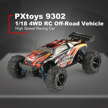 PXtoys 9302 1/18 4WD RC Car with Off-Road Buggy Vehicle High Speed Racing Car for Pioneer RTR Monster Truck Remote Control Toy z