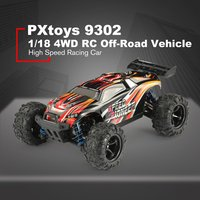 PXtoys 9302 1/18 4WD RC Car with Off Road Buggy Vehicle High Speed Racing Car for Pioneer RTR Monster Truck Remote Control Toy z