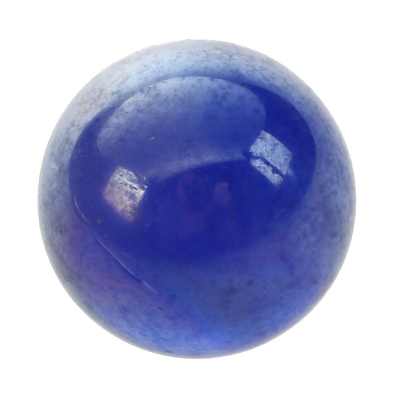 10 Pcs Marbles 16mm Glass Marbles Knicker Glass Balls Decoration Toy Dark Blue