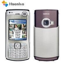 Nokia n70 remodelado-original desbloqueado telefone n70 2 .. 1inch polegada rádio fm bluetooth symbian os com teclado árabe frete grátis