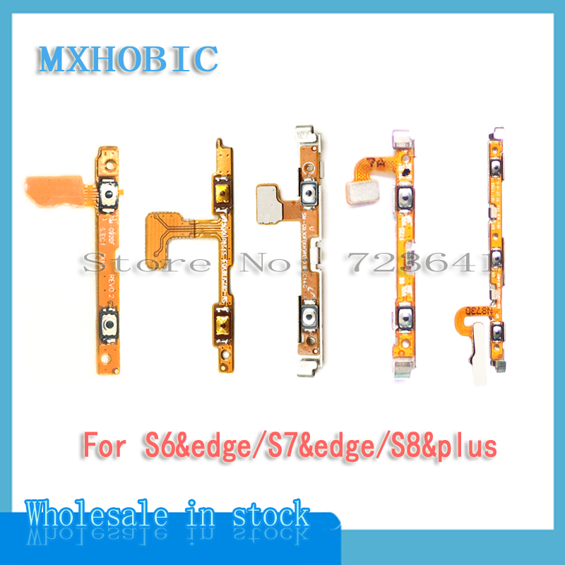 Volume-Button Flex-Cable S9 Plus S8 Samsung Replacement-Parts S7-Edge Galaxy for S6 G920f/G925f/G930f/..