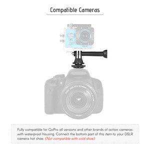 Image 4 - Andoer Heißer Schuh Mount Adapter Stativ Schraube zu Action Kamera Flash für GoPro Hero Andoer LED Ring Licht für DSLR kamera