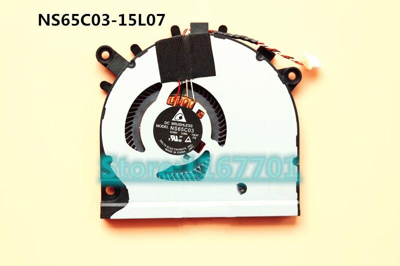 Nouvel Ordinateur Portable D'origine/Ventilateur De Refroidissement pour Ordinateur Portable Pour Acer Aspire R5-571 R5-571T R5-571TG NS65C03-15L07