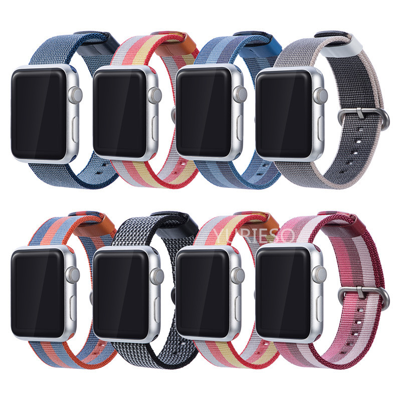 20PCS Sport loop For Apple Watch band 42mm 38mm iWatch 3 2 1 nylon watch strap