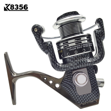 K8356 Fishing Spinning Reel BA1000~BA7000 14BB 5.5:1 Carp Fishing Reel  Metal Line Cup Left/Right Handle Saltwater Fishing Reel