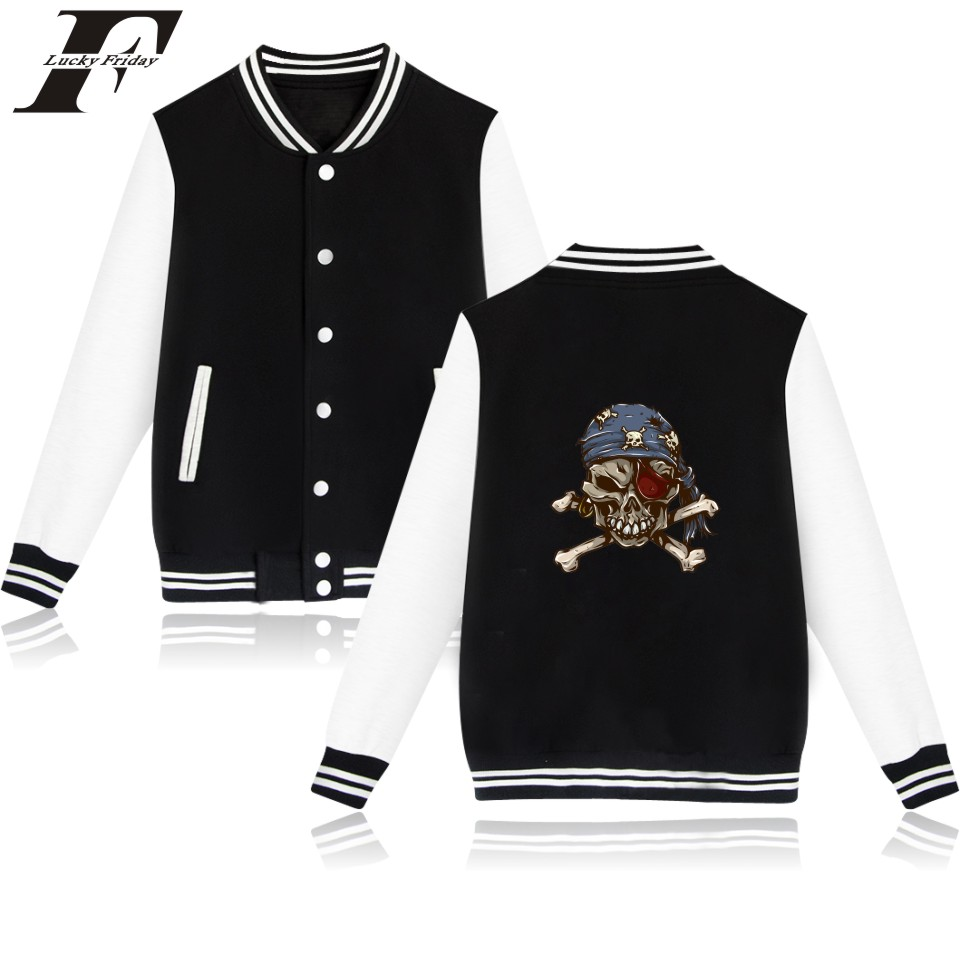 Funny Skeleton Cartoon Baseball font b Jacket b font Winter Warm Cotton Wadded font b Jacket