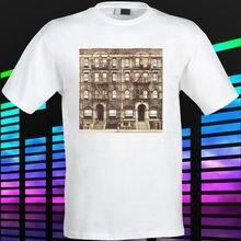 Gildan New LED ZEPPELIN Physical Graffiti Kashmir Men's White t-shirt Size S to 3XL men's t-shirt