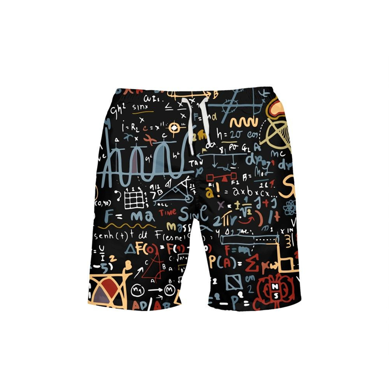 2019 Prints Mens Swimwear Beach   Shorts   Swim Surffing Trunks   Board     Shorts   Swimming Pants Swimsuits Men Running Gym Sports Pants