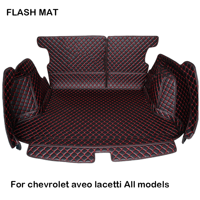 custom made Fully surrounded Car trunk mat for chevrolet captiva chevrolet lacetti chevrolet aveo Car accessories