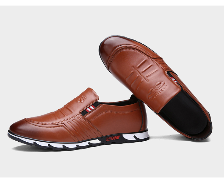 Men's Retro Slip-On Shoes Artificial Leather 19
