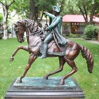 Наполеон chuxun бронзовая фигура украшения Европейский знаменитости лошадях патруль Обустройства Дома Декор подарок оборудование для сбора