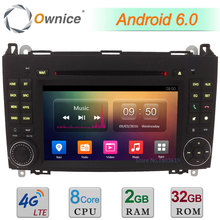 4G WIFI 2GB RAM 32GB ROM Android 6.0 7″ Octa Core Car DVD Radio Player For Mercedes-Benz W169 Sprinter W245 W639 B200 B150 A180