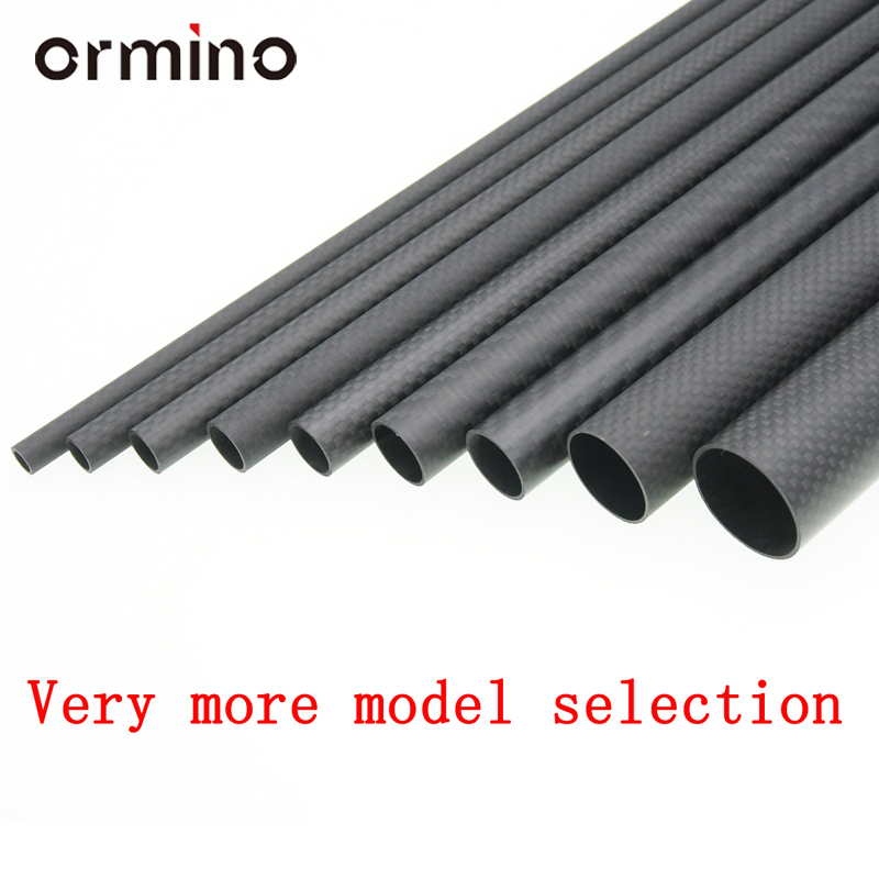 Ormino 3K Carbon Fiber Tube for Drone diy Quadcopter Frame arm - Mainan kawalan radio - Foto 5
