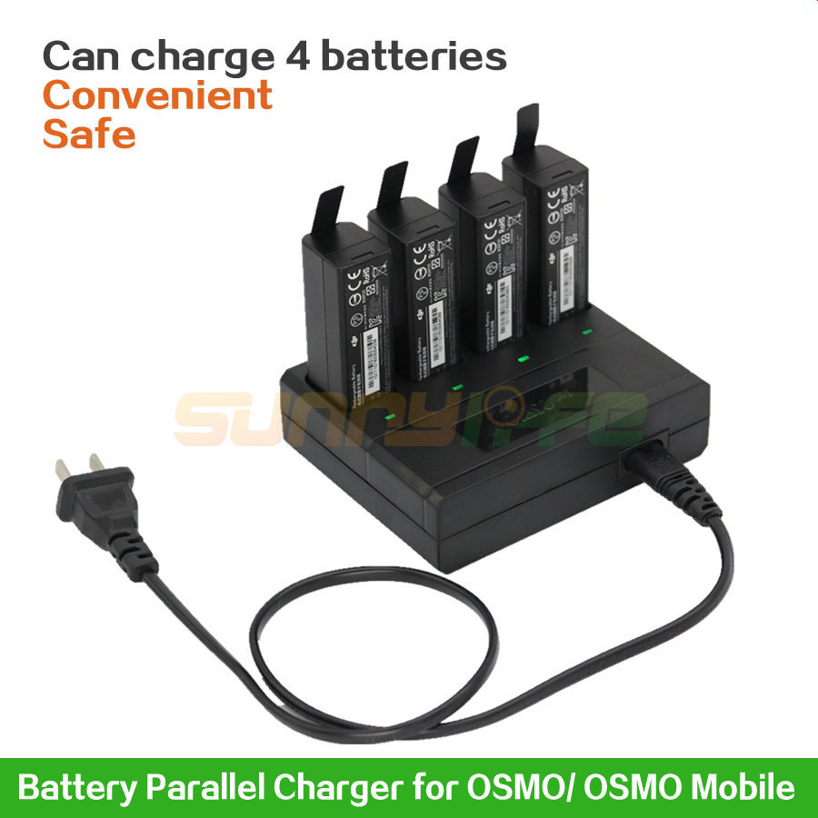 OSMO Parallel Charger Intelligent Battery Charger for OSMO OSMO Mobile Handheld Gimbal