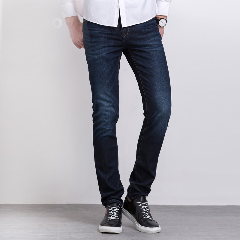 Italian Style Fashion Full Length Solid Skinny Jeans Men Brand Designer Clothing Denim Pants Luxury Casual Trousers Male jeans men fashion full length solid skinny jeans men brand designer clothing denim pants luxury casual trousers male plus size