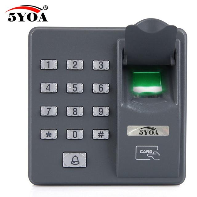 5YOA BX6FY Biometric Fingerprint Access Control Machine Digital Electric RFID Reader Scanner Sensor Code System For Door Lock