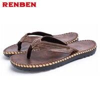 2017 Nieuwe Collectie Zomer Cool Mannen Slippers Britse Stijl Boardered Strand Sandalen Non-slide Mannelijke Slippers Zapatos Hombre