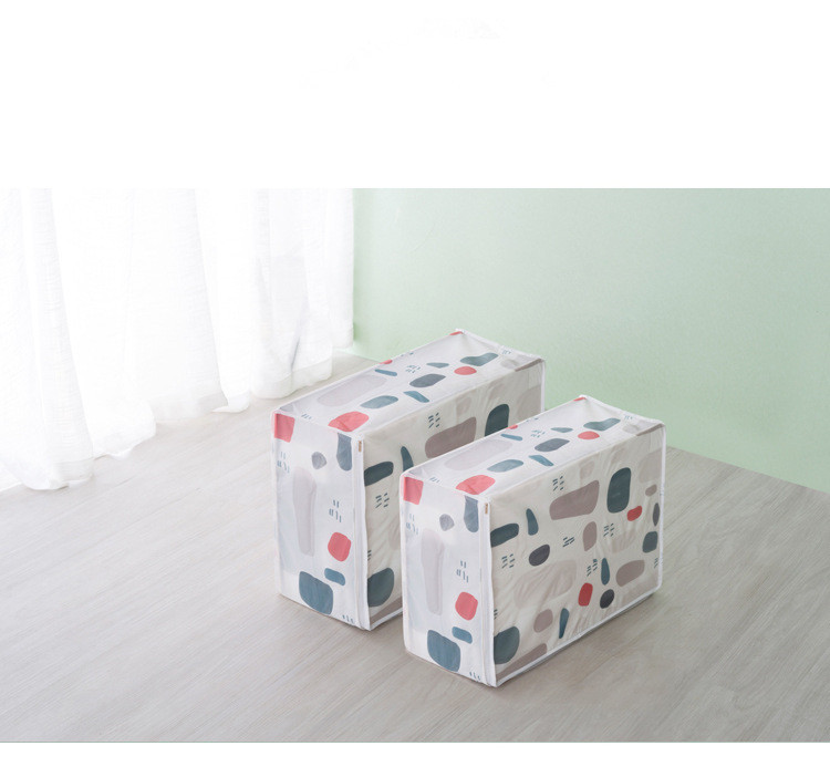 Clothes:  1PC Quilt Storage Bags PEVA Luggage Bags Large Home Storage Organiser Waterproof Wardrobe Clothes Storing Storage Box LF 151 - Martin's & Co