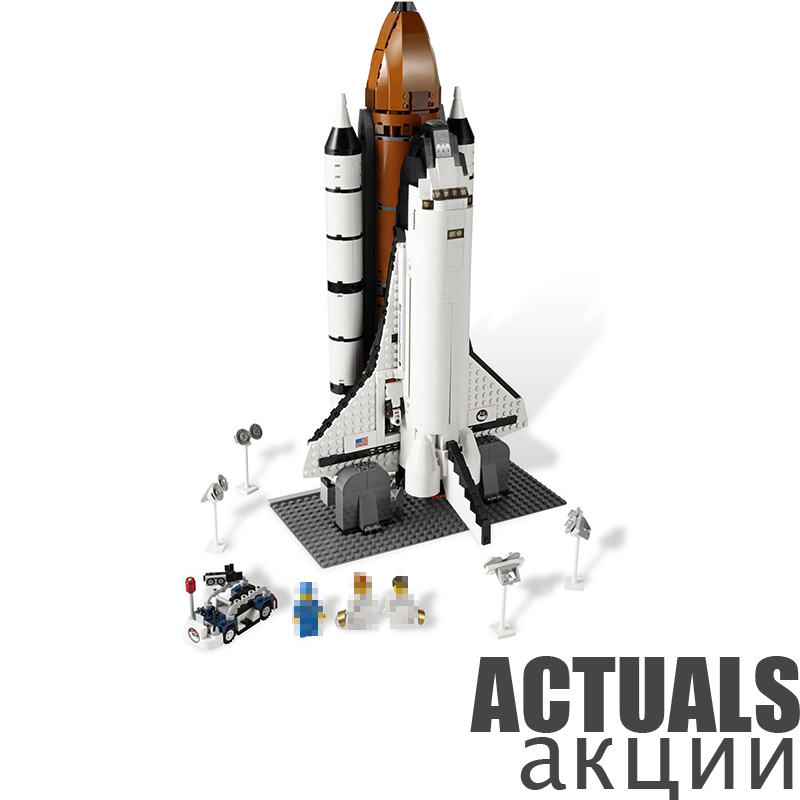 LEPIN Technic 16014 1230Pcs Space Shuttle Expedition Model Building Bricks Blocks Kit figures Toys for Children Compatible 10231 led light up kit gor city model building block figures accessories kit toys for children compatible with lepin