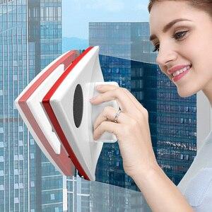 Image 2 - مُنظف نوافذ مغناطيسية ممسحة مزدوجة الجانب المغناطيسي فرشاة لغسل النوافذ معالج تنظيف فرشاة غسل ممسحة الزجاج النظيف المغناطيس