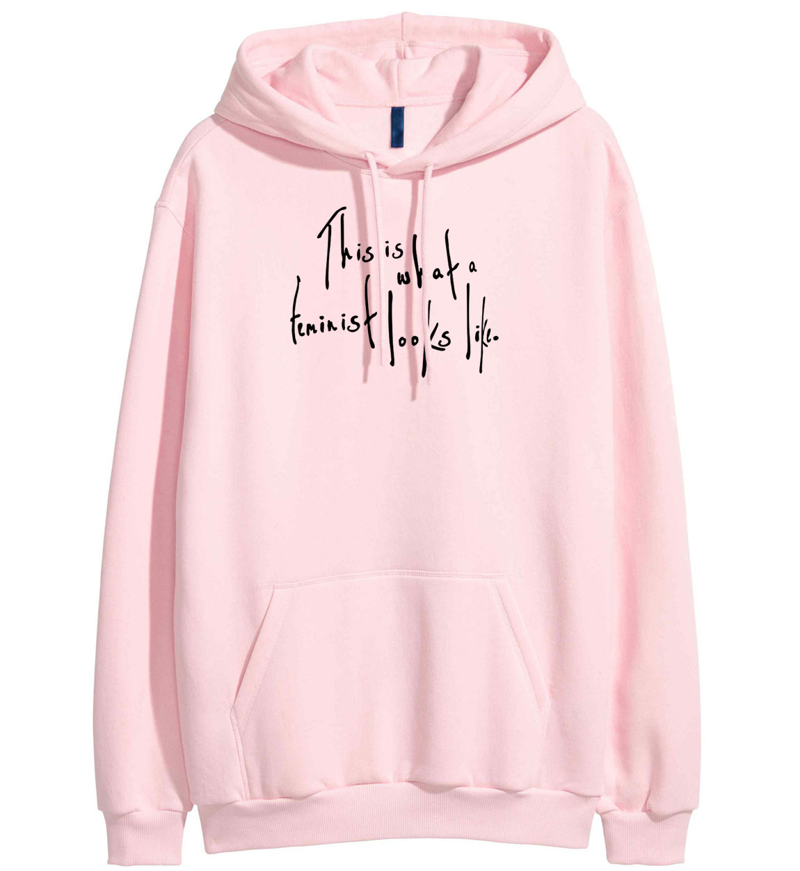 Hoodies For Women 2019 Spring Winter Sweatshirt Letter Print This Is What a Feminist Looks Like Harajuku Casual Pullover Female